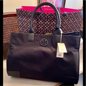 NWT last one❤️Authentic Tory Burch Nylon Tote Bag